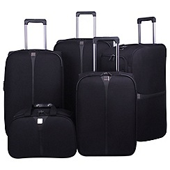 Tripp - Superlite III 2-wheel Large Suitcase Range in Black