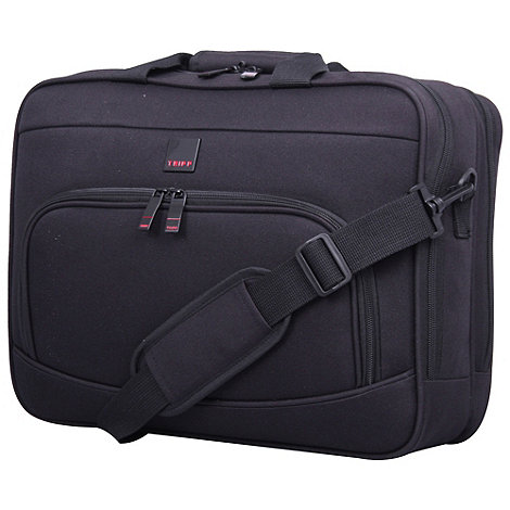 Tripp - Essentials Business Laptop Bag 2 Comp Black