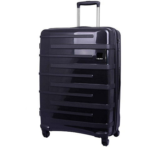 Tripp - Star Lite 4-Wheel Large Suitcase Black
