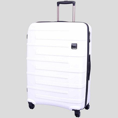 Tripp - Star Lite 4-Wheel Large Suitcase White
