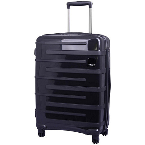 Tripp - Star Lite 4-Wheel Medium Suitcase Black