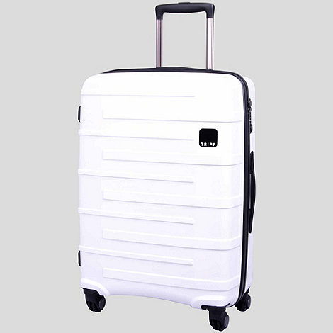Tripp - Star Lite 4-Wheel Medium Suitcase White
