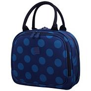 Express Dots Beauty Case Blue/Teal