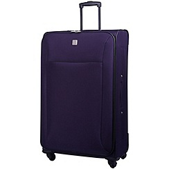 Tripp - Glide Lite II 4-Wheel Large Suitcase Grape