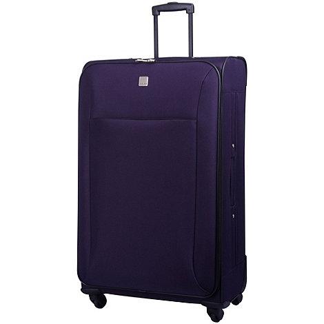 Tripp - Glide Lite II 4-Wheel Large Suitcase Grape