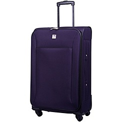 Tripp - Glide Lite II 4-Wheel Medium Suitcase Grape