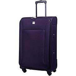 Tripp - Glide Lite II 4-Wheel Medium Suitcase Grape