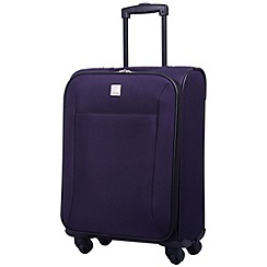 Tripp - Glide Lite II 4-Wheel Cabin Suitcase Grape