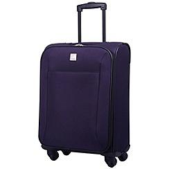 Tripp - Glide Lite II 4-Wheel Cabin Suitcase Grape