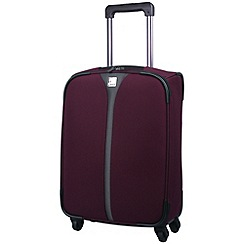 Tripp - Superlite 4-Wheel Cabin Suitcase in Damson