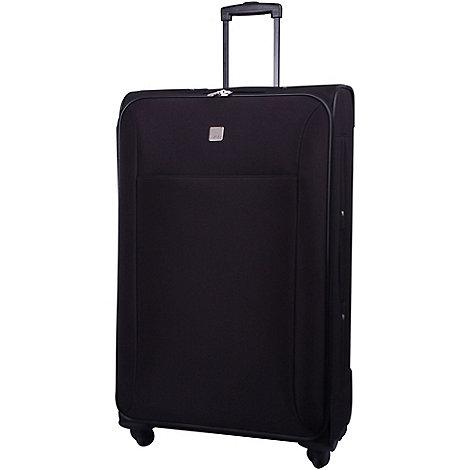 Tripp - Glide Lite II 4-Wheel Large Suitcase Black