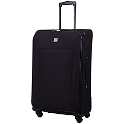 Tripp - Glide Lite II 4-Wheel Medium Suitcase Black