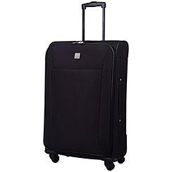 Tripp - Glide Lite II 4-Wheel Medium Suitcase Black