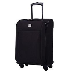 Tripp - Glide Lite II 4-Wheel Cabin Suitcase Black