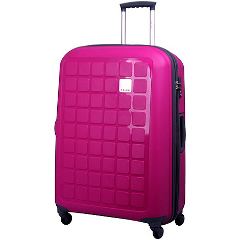 Tripp - Holiday 4 4-Wheel Large Suitcase Magenta