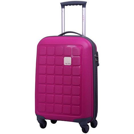 Tripp - Holiday 4 4-Wheel Cabin Suitcase Magenta