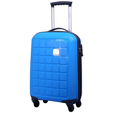 Tripp - Holiday 4 4-Wheel Cabin Suitcase Azure