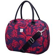 Express Autumn Flower Holdall Grape/Raspberry