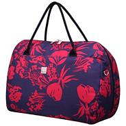 Express Autumn Flower Large Holdall Grape/Raspberry