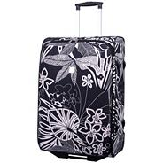 Express Tropical Medium 2-Wheel Suitcase Black/Ecru