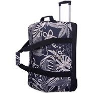Express Tropical Large Wheel Duffle Black/Ecru