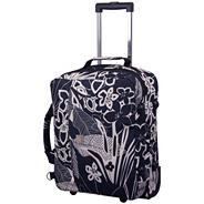 Express Tropical Cabin Duffle Suitcase Black/Ecru