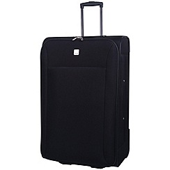 Tripp - Glide Lite II 2-Wheel Large Suitcase Black
