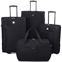 Tripp - Glide Lite II 2-wheel Suitcase Range in Black