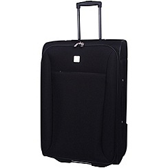 Tripp - Glide Lite II 2-Wheel Medium Suitcase Black