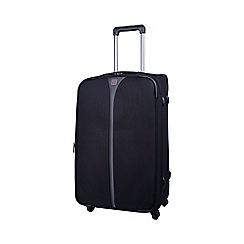 Tripp - Black 'Superlite 4W' 4 wheel medium suitcase