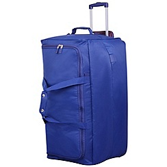 Tripp - Pillo II Large Wheel Duffle Indigo