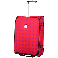 Tripp - Express Dots 2-Wheel Medium Suitcase Coral/Magenta