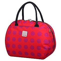 Tripp - Express Dots Holdall in Coral/Magenta