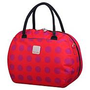 Express Dots Holdall in Coral/Magenta