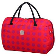 Express Dots Large Holdall in Coral/Magenta