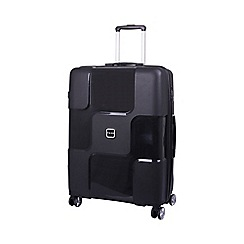 Tripp - World 4-Wheel Large Suitcase Black