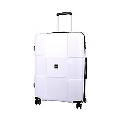 Tripp - Tripp World 4-Wheel Large Suitcase White