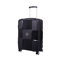 Tripp - Tripp World 4-Wheel Medium Suitcase Black