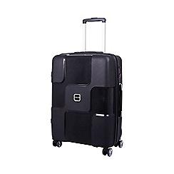 Tripp - Black 'World' 4 wheel medium suitcase