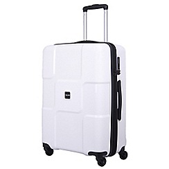 Tripp - World 4-Wheel Medium Suitcase White
