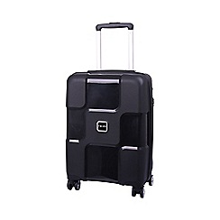 Tripp - World 4-Wheel Cabin Suitcase Black