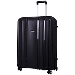 Tripp - Shield  4-Wheel Large Suitcase Black