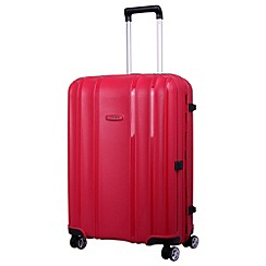 Tripp - Shield  4-Wheel Medium Suitcase Berry