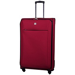 Tripp - Glide Lite II 4-Wheel Large Suitcase Ruby