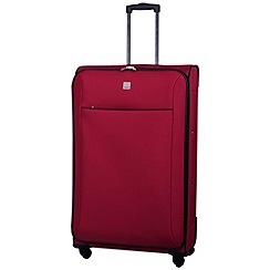 Tripp - Glide Lite II 4-Wheel Large Suitcase Ruby