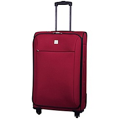 Tripp - Glide Lite II 4-Wheel Medium Suitcase Ruby