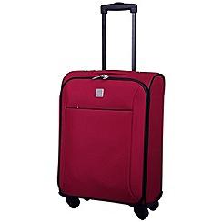 Tripp - Glide Lite II 4-Wheel Cabin Suitcase Ruby
