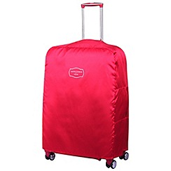 Jasper Conran at Tripp - Cruise Large Suitcase Cover Scarlet