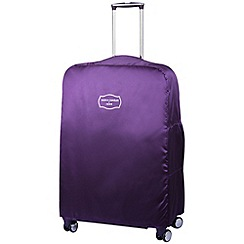 Jasper Conran at Tripp - Cruise Large Suitcase Cover Amethyst