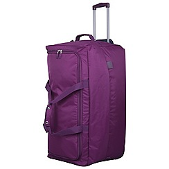 Tripp - Pillo II Large Wheel Duffle Mulberry